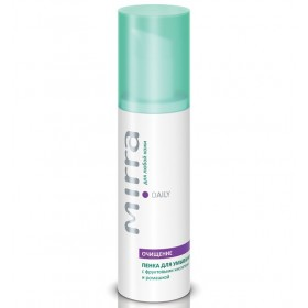 Foam cleanser with fruit acids and chamomile Cleansing foam Cleansing face skin