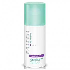 Toning gel with antioxidant complex and rosewort Gel with anti-age complex toning of the skin
