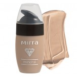 Foundation - tone Light beige on shop.mirralux.com Mineral Line