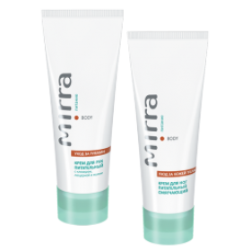 Together cheaper hand cream and foot cream to see mirra.ru.com